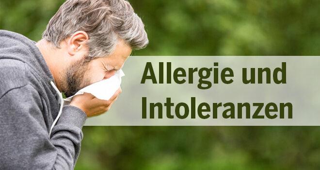 Spezial Allergie und Intoleranzen