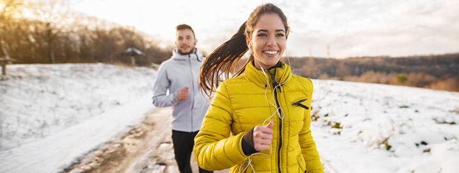 Bewegung an der frischen Luft regt das Immunsystem an.