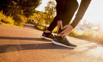 Bei einem Achillessehnenriss ist meist ein peitschenartiges Knallen zu hören.