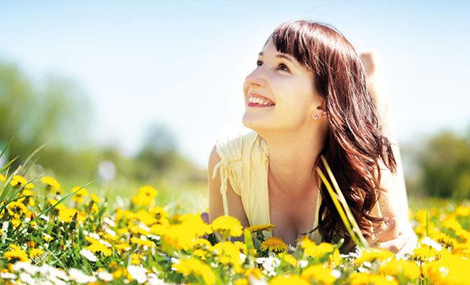 Aliva gibt Ihnen ein paar Tipps, wie Sie mit Freude den Frühling genießen können.