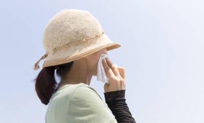 Heuschnupfen kann auch Schweißausbrüche verursachen.