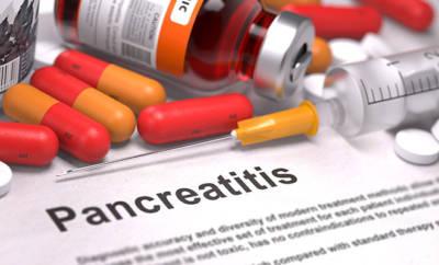 Ein Diagnosebogen mit Pankreatitis als Befund. Die Bauchspeicheldrüsenentzündung muss schnellstmöglich behandelt werden.