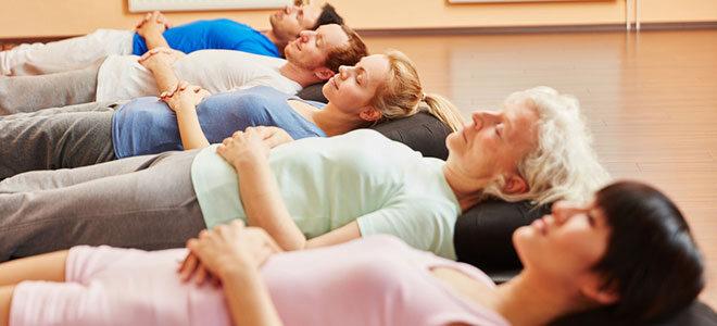 Mit der richtigen Atemtechnik können Sie Stress abbauen.
