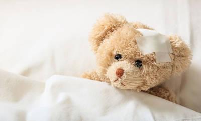 Teddy im Krankenhaus
