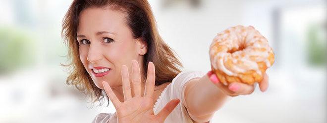 Nein zu Süßen - Diät