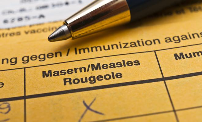 Impfbuch Masern