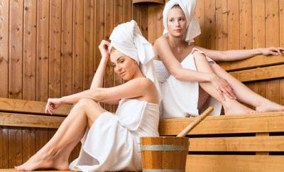 Sauna: Ein finnisches Klischee, das stimmt.
