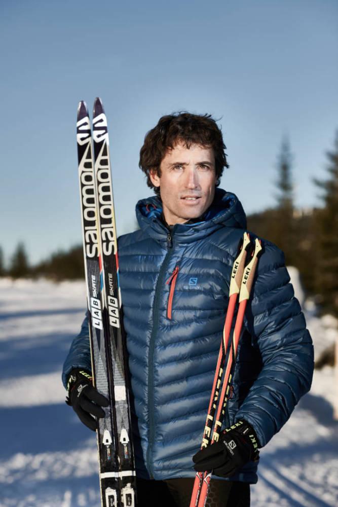 Ein Porträt des Langläufer und Olympiamedaillengewinners Peter Schlickenrieder.