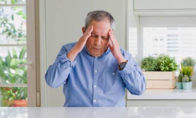 Ein Mann mit beginnender Frontotemporaler Demenz, früher Pick-Krankheit genannt