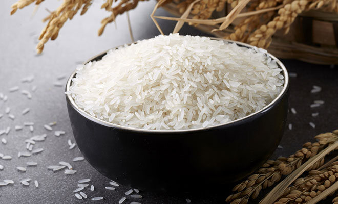 Eine Portion Reis