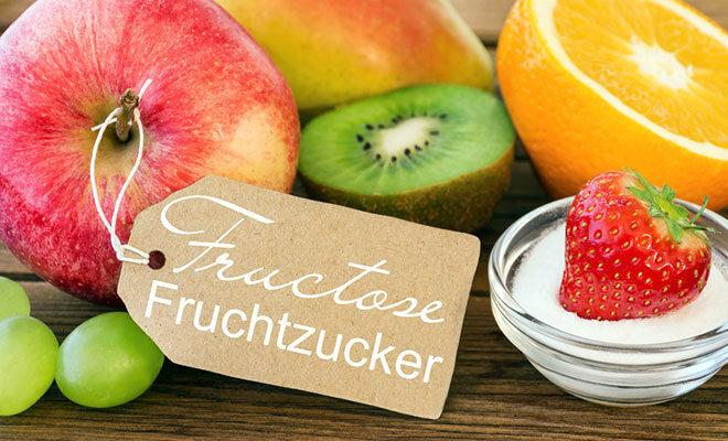 Mehrere Obstsorten, die bei der FOPMAP-Diät gemieden werden sollten, da sie viel Fruchtzucker enthalten.