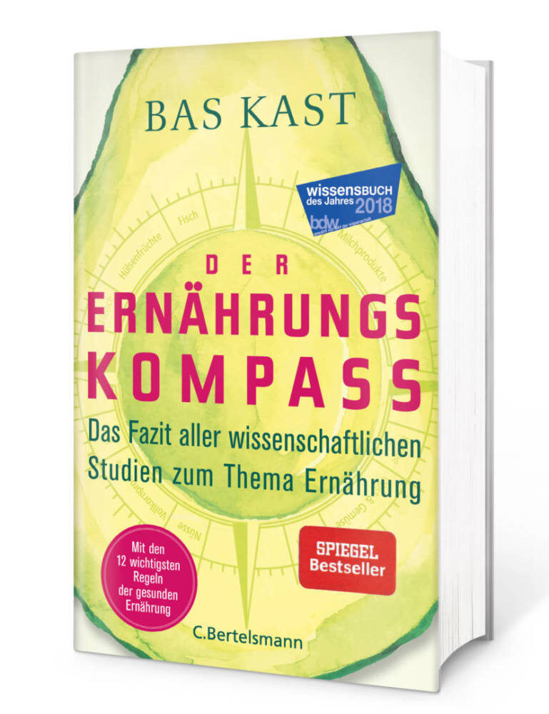 """Buchcover """"Der Ernährungskompass"""""""