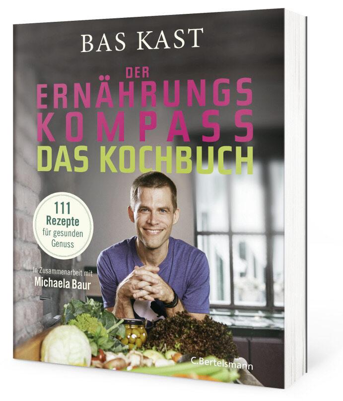 """Buchcover """"Der Ernährungskompass. Das Kochbuch"""""""
