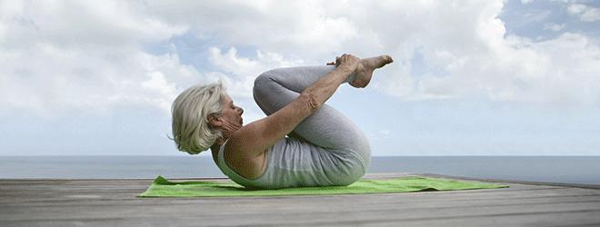 Yoga ist für jedes Alter geeignet.