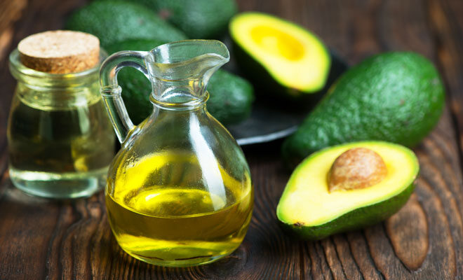 Vitamin-E-reiche Lebensmittel: Avocado, Weizenkeimöl