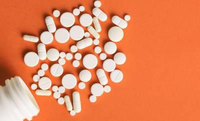 Mehrere Tabletten von Barbituraten
