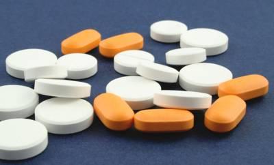 Mehrere Benzodiazepine in Tablettenform.