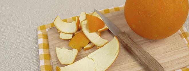 Orangen sind häufig gespritzt, daher isst man sie meistens geschält.
