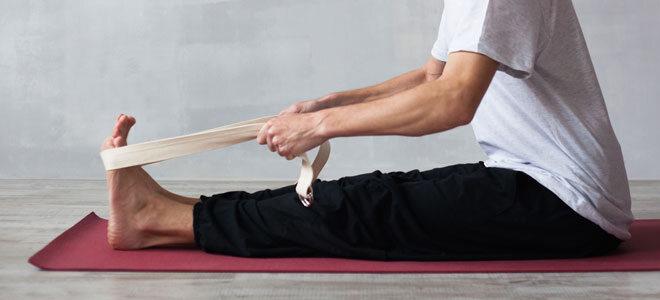 Praktisches Yoga Gadget: Ein Yoga Gurt