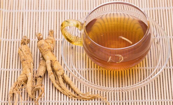 Ginsengwurzeln können u.a. als Tee oder Pulver konsumiert werden,