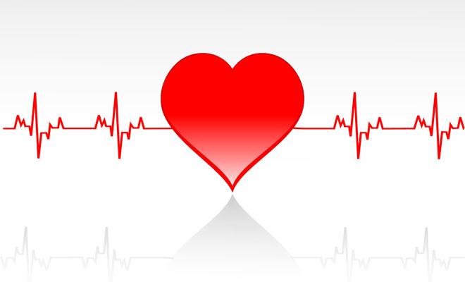 Eine Grafik mit einem Herz