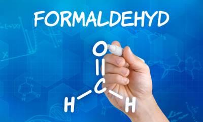 Chemische Formel von Formaldehyd