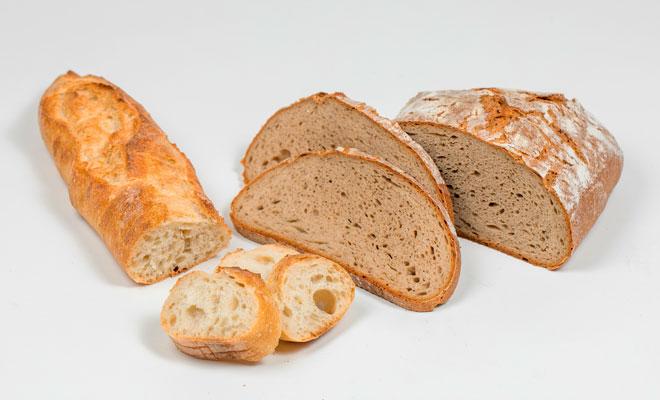 Brote aus Weizenmehl