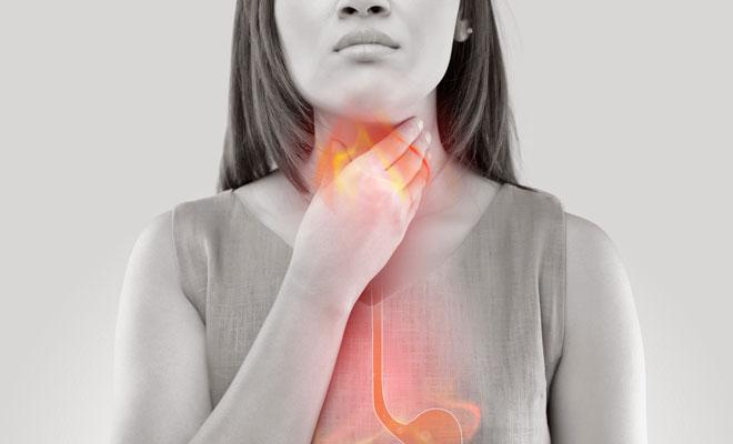Symptome Stiller Reflux