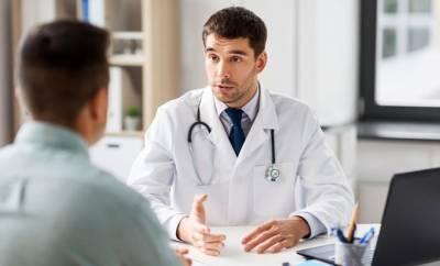 medizinische Versorgung: Ein Patientengespräch